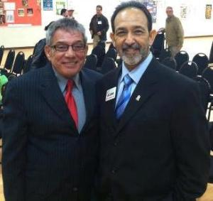 Nicky Cruz and Al Loma